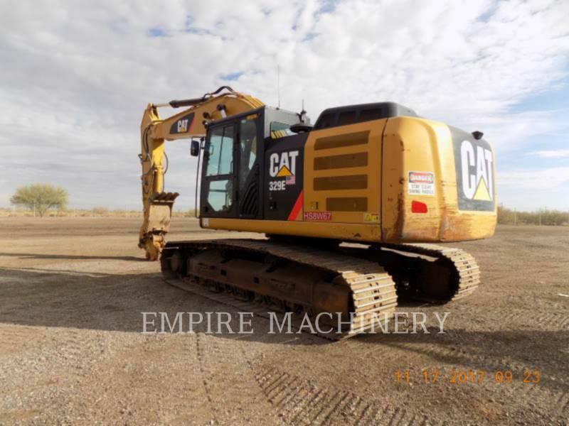 CATERPILLAR KETTEN-HYDRAULIKBAGGER 329EL equipment  photo 3