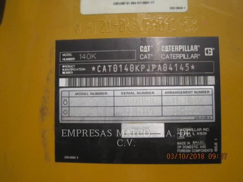 CATERPILLAR MOTONIVELADORAS 140 K equipment  photo 6