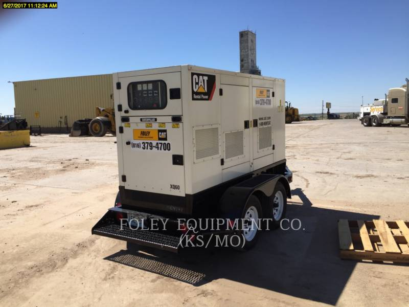 OLYMPIAN CAT PORTABLE GENERATOR SETS XQ60 equipment  photo 2