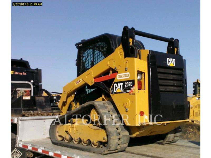 CATERPILLAR CHARGEURS COMPACTS RIGIDES 259D W equipment  photo 2