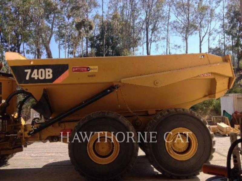 CATERPILLAR CAMIONES DE DESCARGA 740B equipment  photo 3