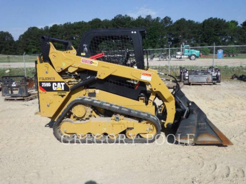 CATERPILLAR 多様地形対応ローダ 259D N equipment  photo 22