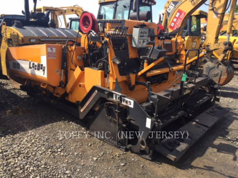 LEE-BOY ASFALTATRICI 8510T equipment  photo 3