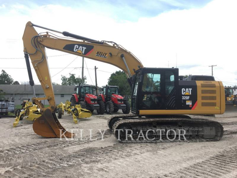 CATERPILLAR EXCAVADORAS DE CADENAS 320FL equipment  photo 2