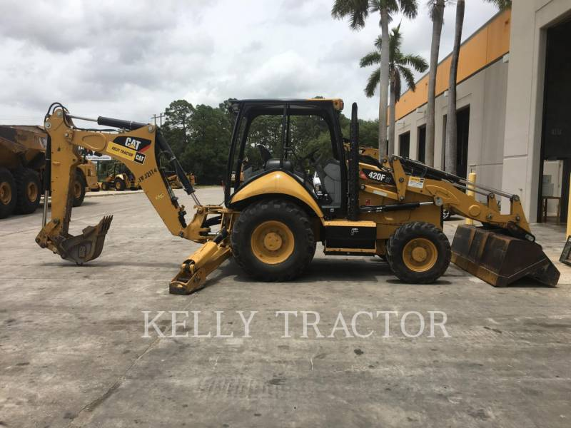 CATERPILLAR RETROESCAVADEIRAS 420FIT equipment  photo 6