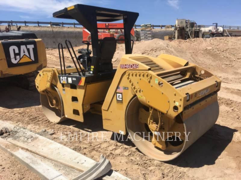CATERPILLAR TANDEMOWY WALEC WIBRACYJNY DO ASFALTU (STAL-STAL) CB54 equipment  photo 3