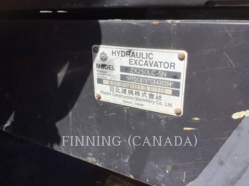 HITACHI KETTEN-HYDRAULIKBAGGER ZX 250 LC equipment  photo 8