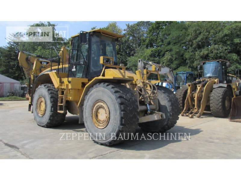 CATERPILLAR SPYCHARKI KOŁOWE 824G equipment  photo 3