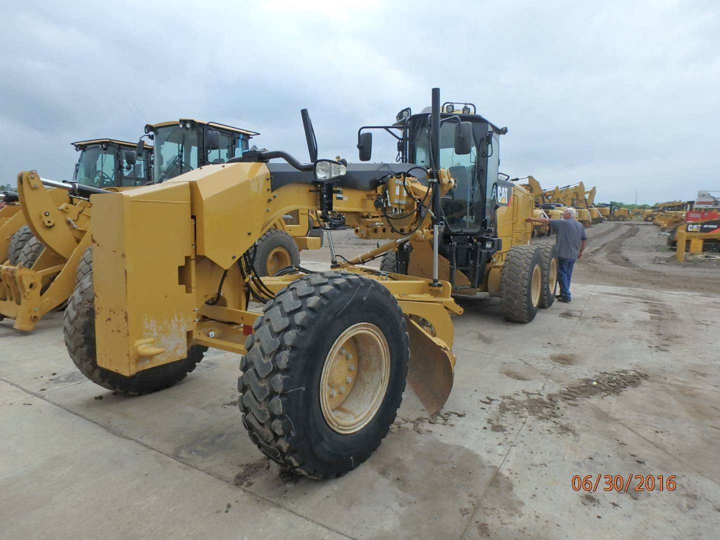 New 160m Motor Grader For Sale Whayne Cat