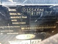 KOMATSU LTD. TRACK TYPE TRACTORS D155AX-6 equipment  photo 7