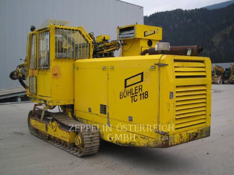 SANDVIK MINING & CONSTRUCTION PERFORADORAS TC118 equipment  photo 1