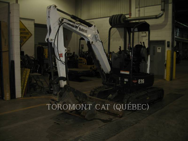 BOBCAT PELLES SUR CHAINES E26 equipment  photo 4