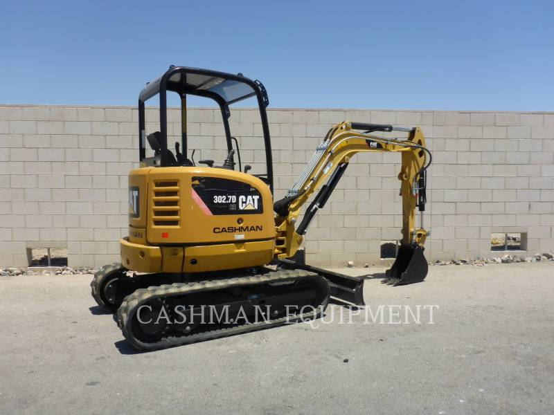 CATERPILLAR EXCAVADORAS DE CADENAS 302.7D CR equipment  photo 4