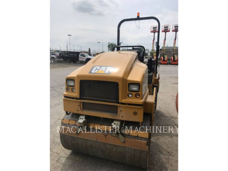 CATERPILLAR COMPATTATORE PER ASFALTO A DOPPIO TAMBURO VIBRANTE CB34B equipment  photo 3