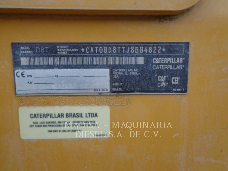 CATERPILLAR TRATOR DE ESTEIRAS DE MINERAÇÃO D8T equipment  photo 10