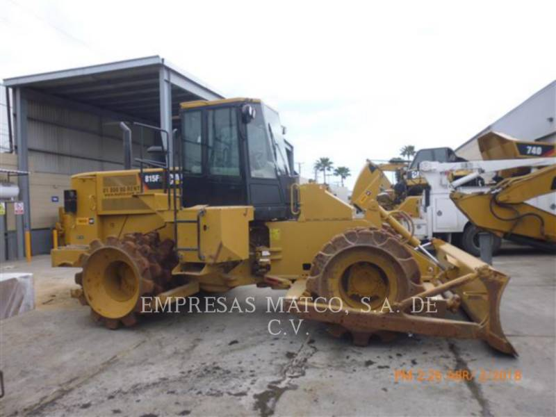 CATERPILLAR COMPACTORS 815FII equipment  photo 1