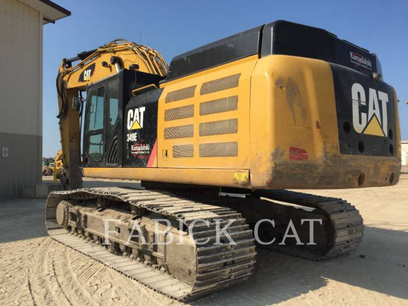 CATERPILLAR トラック油圧ショベル 349E H equipment  photo 4