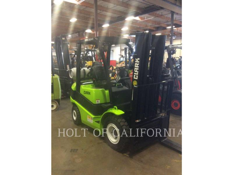 CLARK FORKLIFTS C25L equipment  photo 3