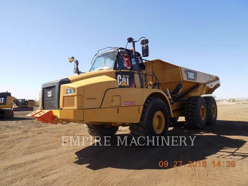 CATERPILLAR DUMPER ARTICOLATI 745C equipment  photo 4