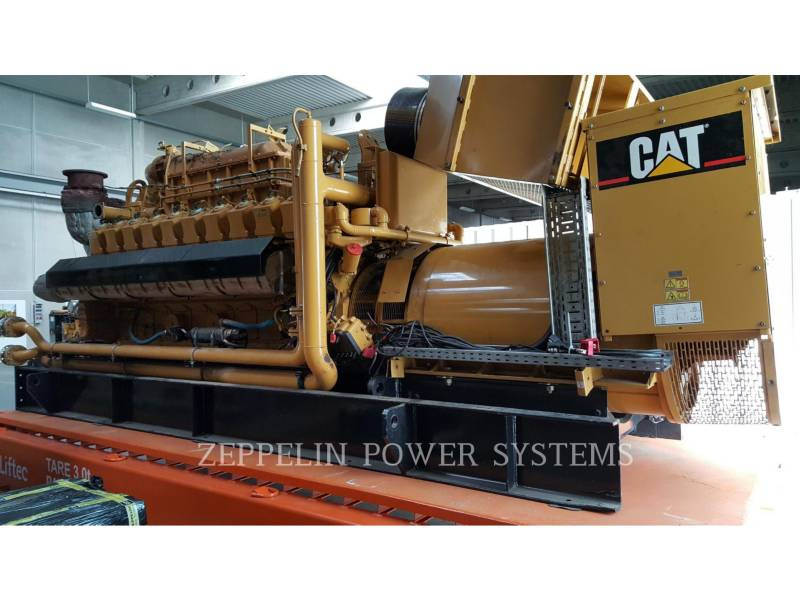 CATERPILLAR STATIONÄR – ERDGAS G3520C equipment  photo 1