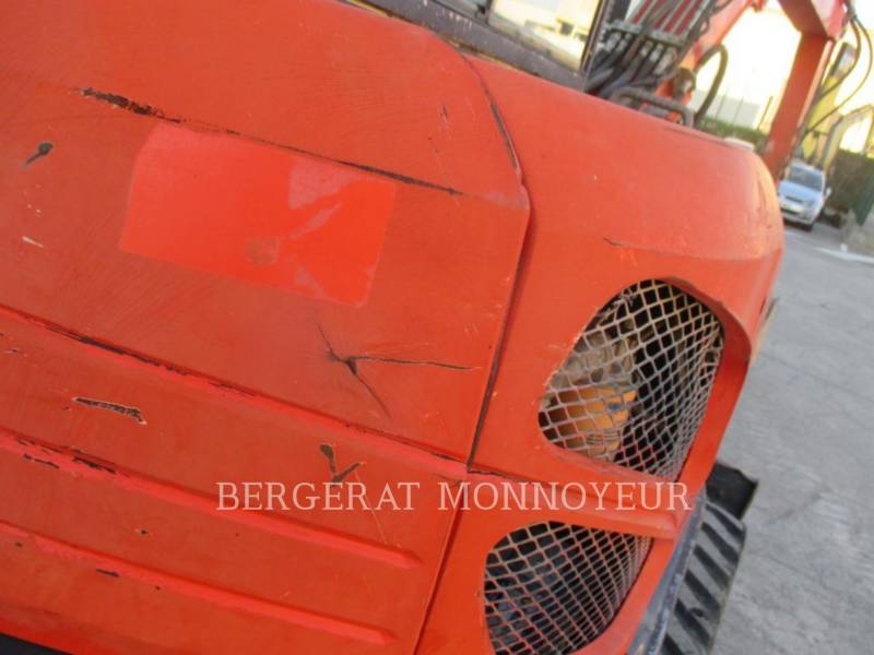 KUBOTA TRACTOR CORPORATION KOPARKI GĄSIENICOWE KX161.3 equipment  photo 8