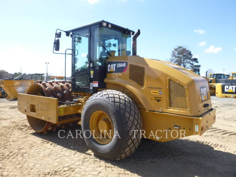 CATERPILLAR ROLETES DO TANDEM VIBRATÓRIO CS64B CB equipment  photo 2