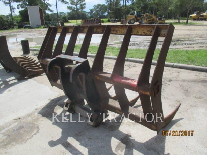 CATERPILLAR HERRAMIENTA DE TRABAJO - RASTRILLO FUSION QC RAKE FOR 938/930/926 equipment  photo 2