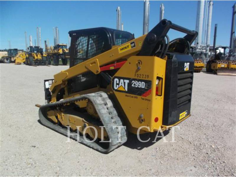 CATERPILLAR SKID STEER LOADERS 299D XPS equipment  photo 3