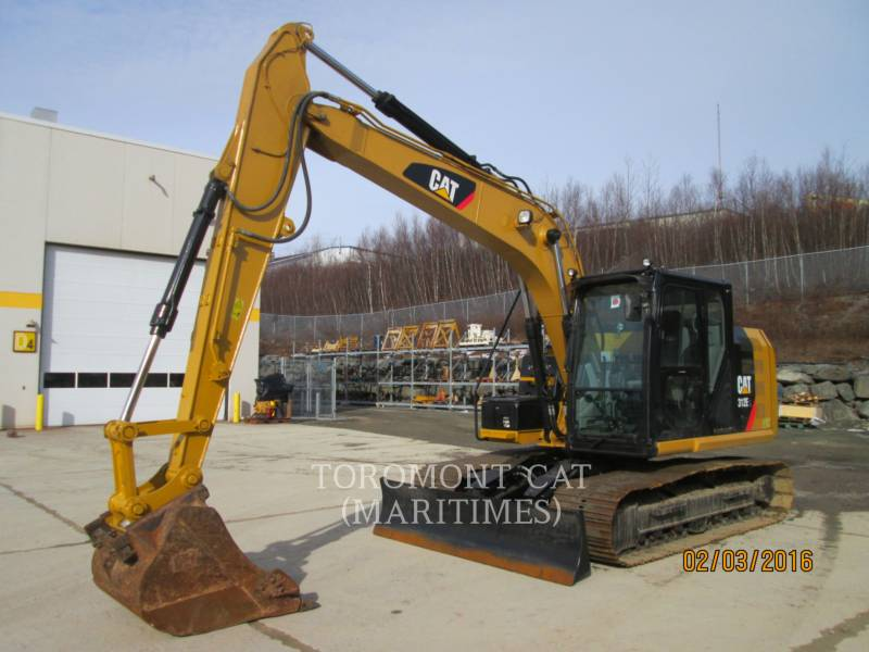 CATERPILLAR PELLES SUR CHAINES 312EL equipment  photo 1