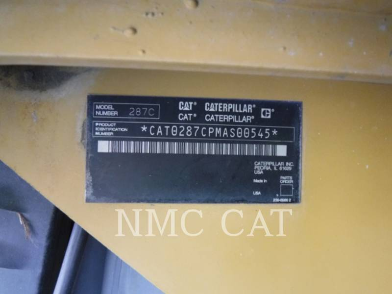 CATERPILLAR CARGADORES MULTITERRENO 287C equipment  photo 6