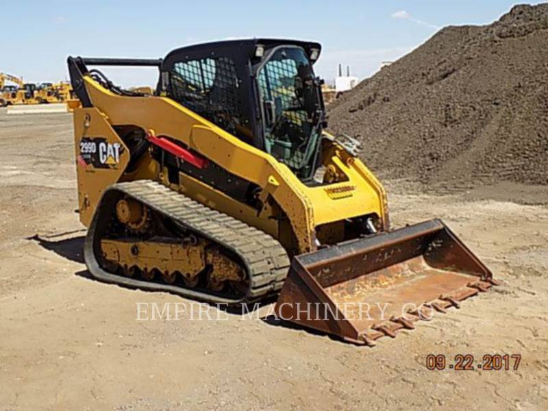 CATERPILLAR CHARGEURS COMPACTS RIGIDES 299D CA equipment  photo 7