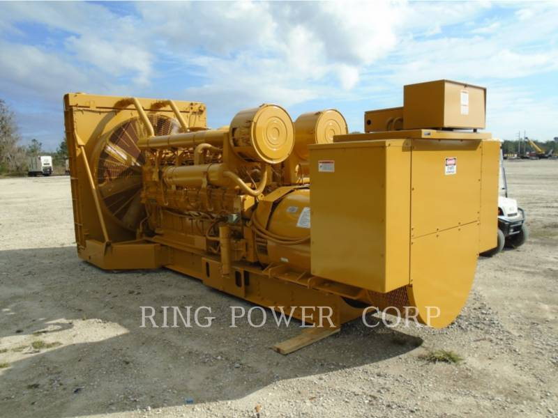 CATERPILLAR 固定式発電装置 1750 KW equipment  photo 3
