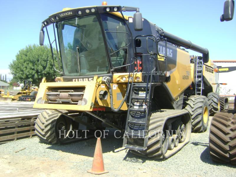 LEXION COMBINE COMBINÉS 750TT    GT10759 equipment  photo 1