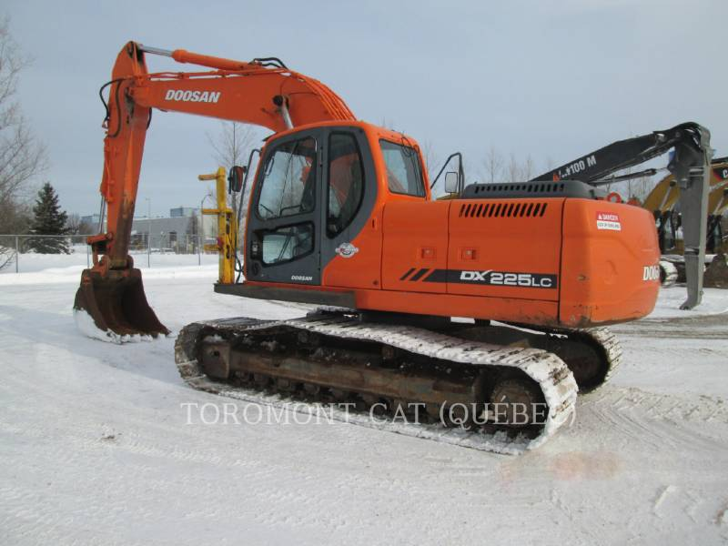 DOOSAN INFRACORE AMERICA CORP. EXCAVADORAS DE CADENAS DX225LC equipment  photo 3