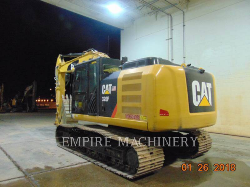 CATERPILLAR PELLES SUR CHAINES 320FL equipment  photo 3