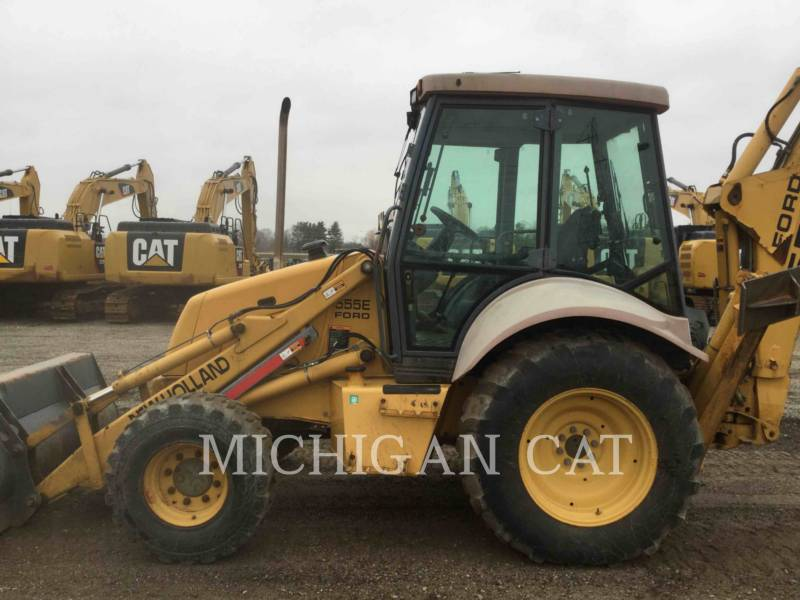 FORD / NEW HOLLAND BACKHOE LOADERS 555E equipment  photo 6