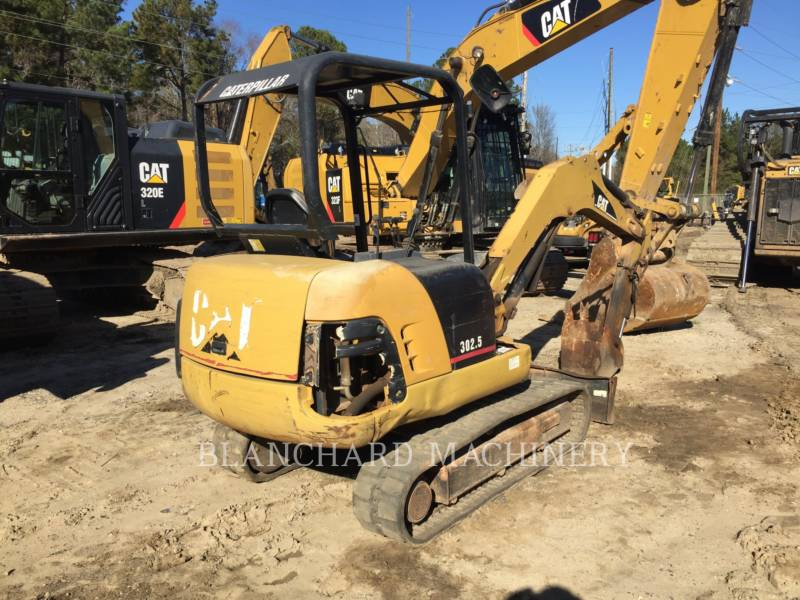 CATERPILLAR TRACK EXCAVATORS 302.5 equipment  photo 6