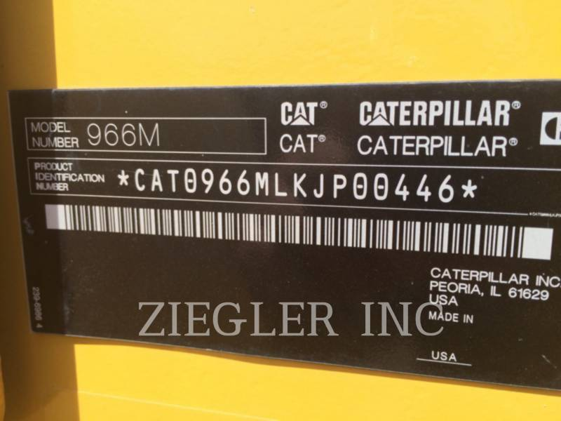 CATERPILLAR MINING WHEEL LOADER 966M equipment  photo 6