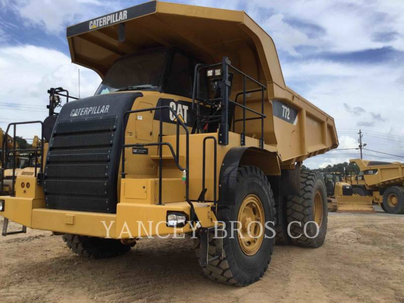 CATERPILLAR DUMPER A TELAIO RIGIDO DA MINIERA 772 equipment  photo 1