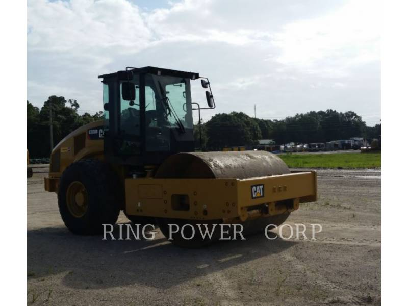 CATERPILLAR VIBRATORY SINGLE DRUM SMOOTH CS66B equipment  photo 2