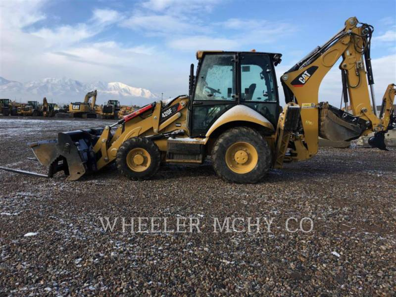 CATERPILLAR BACKHOE LOADERS 420F ITETH equipment  photo 2
