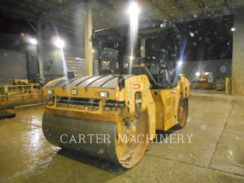 CATERPILLAR COMPATTATORE PER ASFALTO A DOPPIO TAMBURO VIBRANTE CB64B equipment  photo 2
