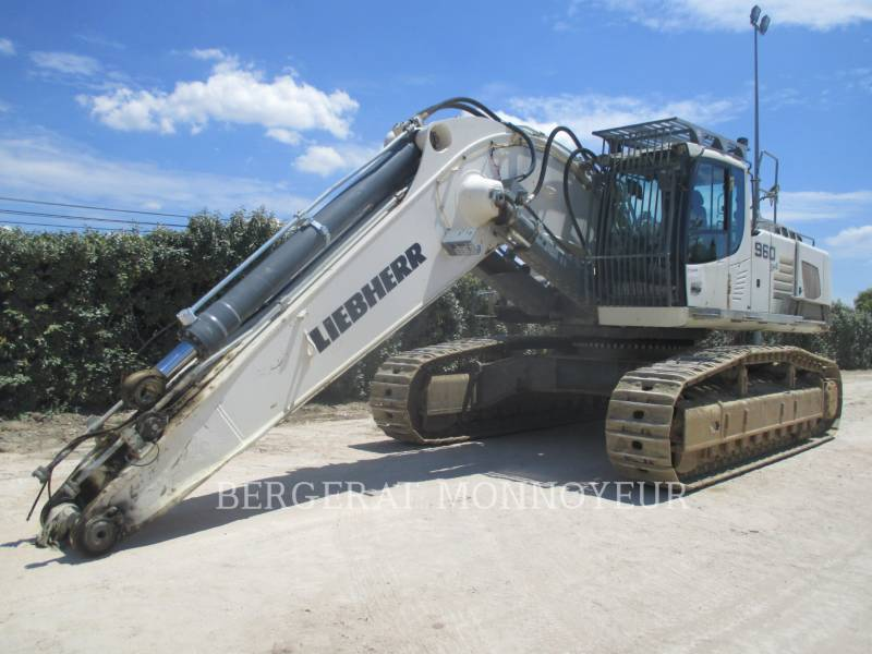 LIEBHERR KETTEN-HYDRAULIKBAGGER R960 equipment  photo 7