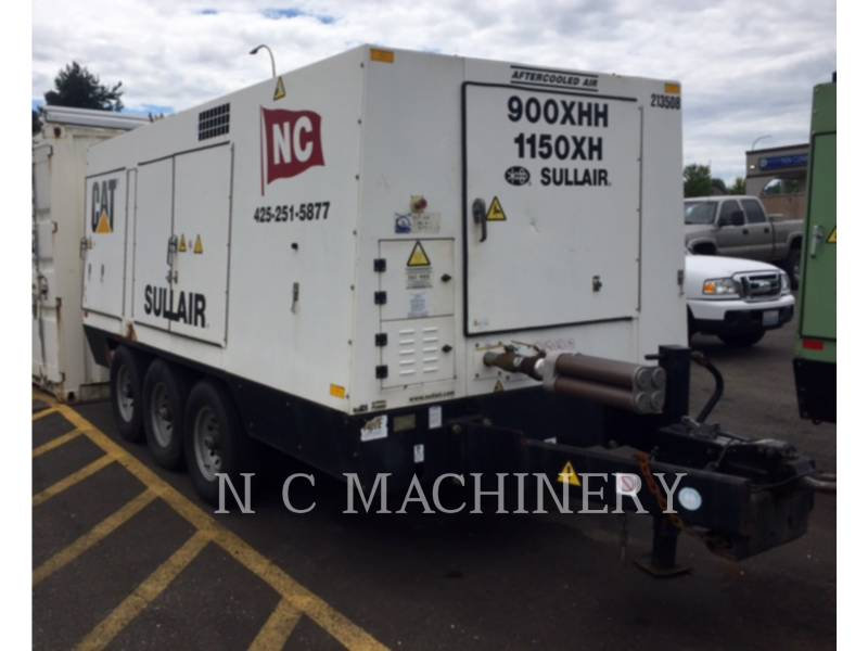 SULLAIR AIR COMPRESSOR 900-1150XH equipment  photo 2