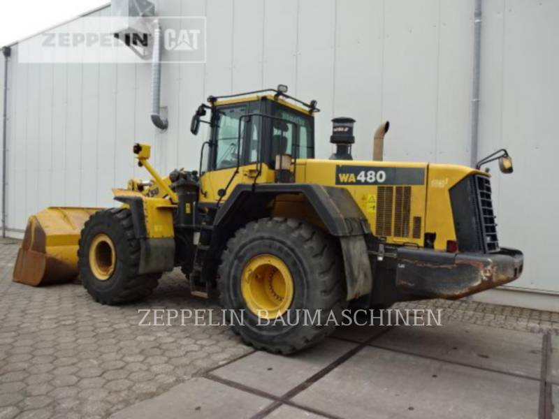 KOMATSU LTD. WHEEL LOADERS/INTEGRATED TOOLCARRIERS WA480LC-6 equipment  photo 3