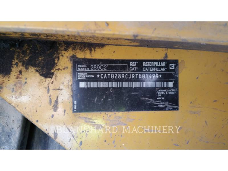 CATERPILLAR CHARGEURS TOUT TERRAIN 289C2 equipment  photo 4