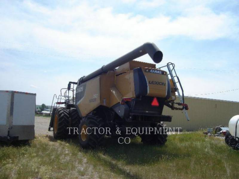 LEXION COMBINE COMBINES LX750 equipment  photo 8