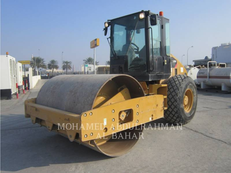 CATERPILLAR COMPACTEUR VIBRANT, MONOCYLINDRE LISSE CS 533 E equipment  photo 1