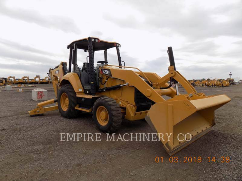 CATERPILLAR BAGGERLADER 420F2 4EO equipment  photo 1