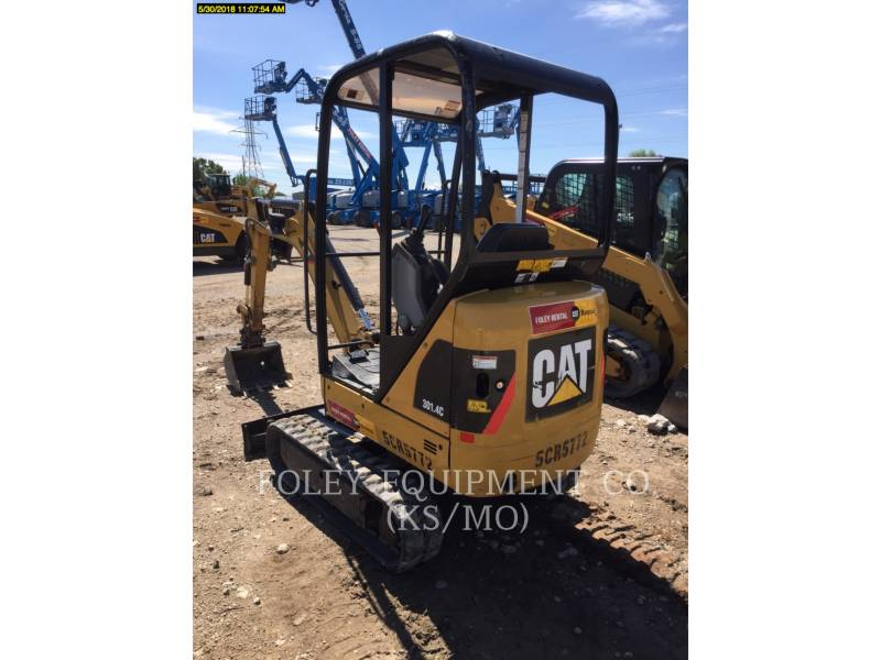 CATERPILLAR TRACK EXCAVATORS 301.4CSO equipment  photo 3